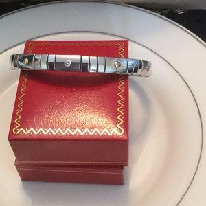 Stainless Steel Diamonique Expansion bracelet